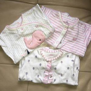 0-3m Girl Sleepsuit Bundle